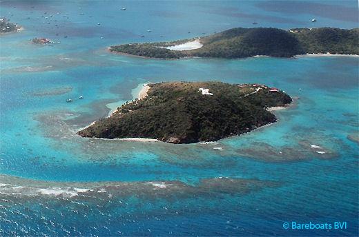 Eustatia Island in the British Virgin Islands