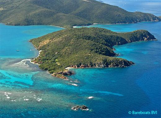 Moskito Island in the British Virgin Islands