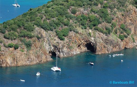 Treasure Point Caves Norman Island