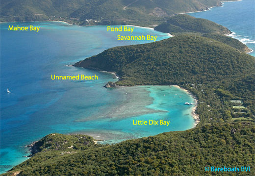 Deep bay virgin gorda